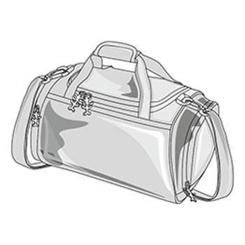 Sporttasche, mit Nassfach