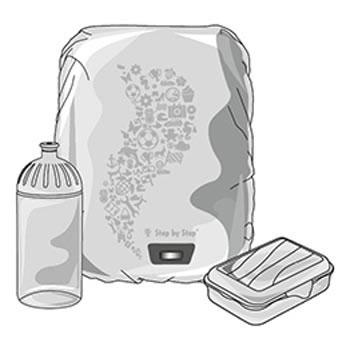 Trinkflaschen, Heftboxen, Brotdosen und Co.