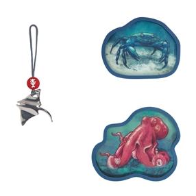 MAGIC MAGS Move, mit Wackelbild, Red Octopus