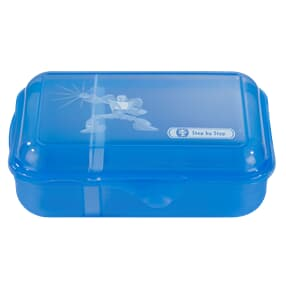 Lunchbox mit Trennwand, Power Robot, Blau