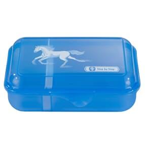 Lunchbox mit Trennwand, Wild Horse, Blau