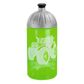 Trinkflasche, 0,5l, Green Tractor