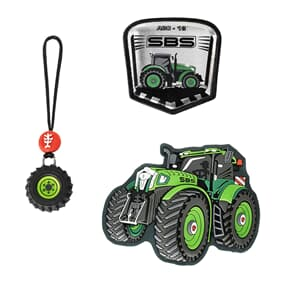 MAGIC MAGS, Green Tractor