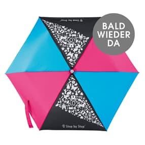 Regenschirm, Magic Rain EFFECT, Pink & Blue