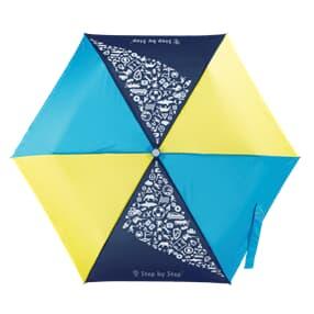 Regenschirm, Magic Rain EFFECT, Blue & Yellow
