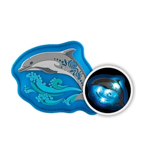 MAGIC MAGS FLASH, Jumping Dolphin, mit Leuchteffekt