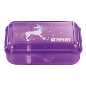 Lunchbox mit Trennwand, Unicorn, Lila