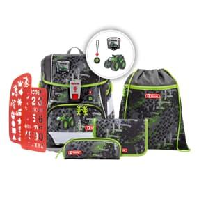 """Schulranzen-Set """"2IN1 PLUS"""", Green Tractor, Schulranzen & Schulrucksack"""