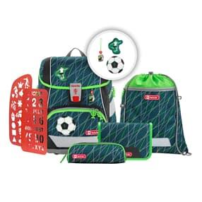 """Schulranzen-Set """"2IN1 PLUS"""", Soccer World, Schulranzen & Schulrucksack"""