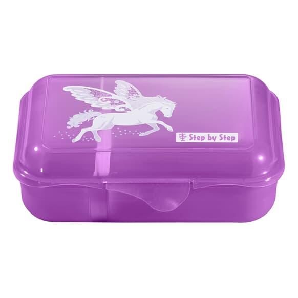 Lunchbox mit Trennwand, Dreamy Pegasus, Violett