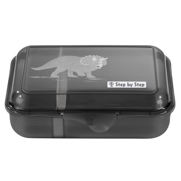 Lunchbox mit Trennwand, Dino Life, Grün