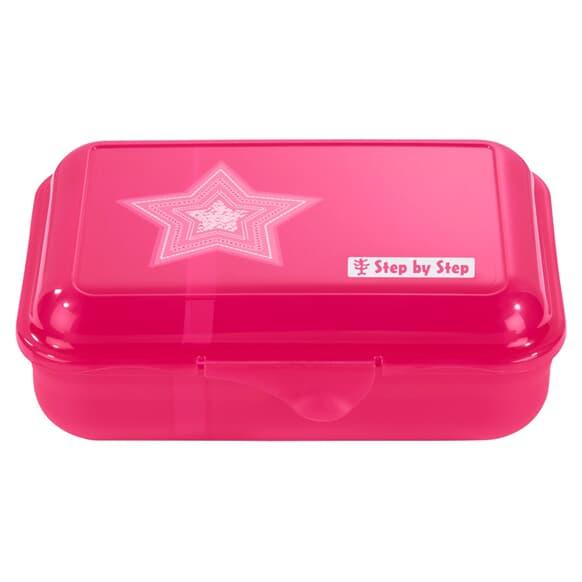 Lunchbox mit Trennwand, Glamour Star, Rosa