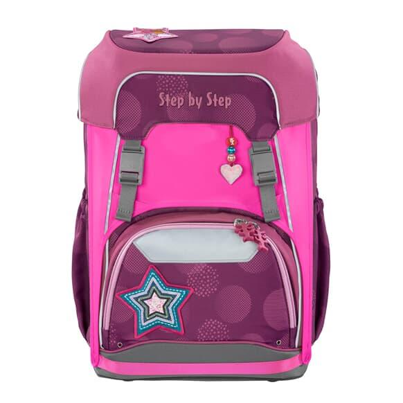 Neon Pull-Over, Reflektorüberzug für GIANT Schulranzen, Pink