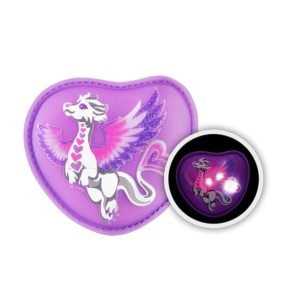 MAGIC MAGS FLASH, Sweet Dragon, mit Leuchteffekt