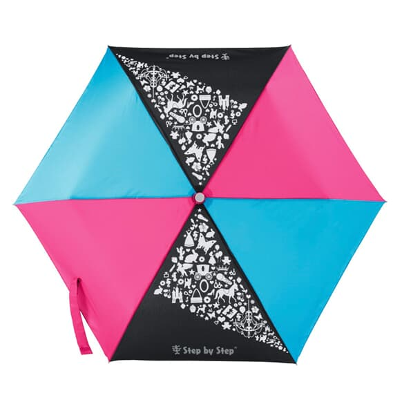 Regenschirm, Magic Rain EFFECT, Pink & Blue