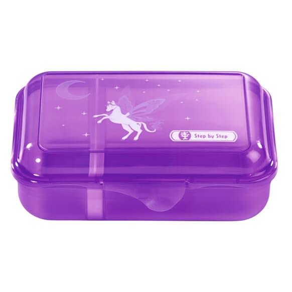 Lunchbox mit Trennwand, Pegasus Dream, Lila