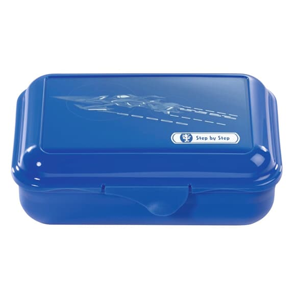 Lunchbox mit Trennwand, Starship, Blau