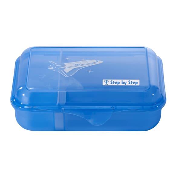 Lunchbox mit Trennwand, Sky Rocket, Blau