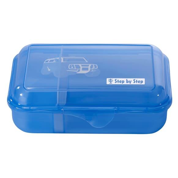 Lunchbox mit Trennwand, City Cops, Blau