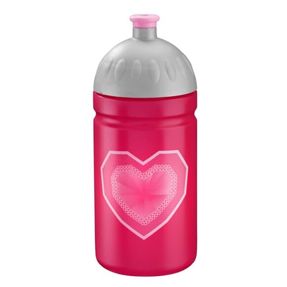 Trinkflasche, 0,5l, Glitter Heart
